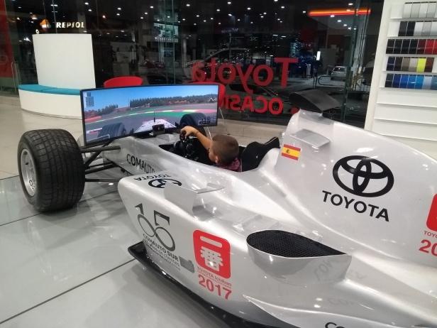 F1 TOYOTA COMAUTOSUR